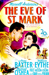 The Eve of St Mark 1944 DVD - Anne Baxter / William Eythe